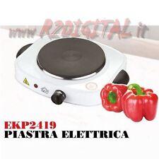 FORNELLO DCG 1500W MINI ELETTRICO PIASTRA CAMPEGGIO UFFICIO CASA FORNELLINO LED