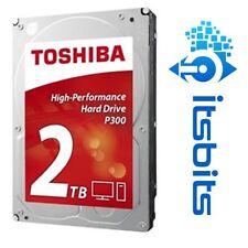 "TOSHIBA P300 2TB SATA III 3.5"" HARD DISK DRIVE 7200RPM 64mb BUFFER INTERNAL HDD"
