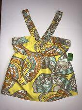Kate Spade NWT Silk Cami Top Butterfly Jana Midas Stud Rhinestone $245 Size 10