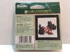 Mary Engelbreit Bucilla Counted Cross Stitch Kit Scottie Dog Frame W/ Kit