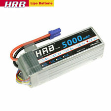 HRB 22.2V 5000mAh 6S Lipo Batterie 50C EC5 für RC Hubschrauber Flugzeug Akku
