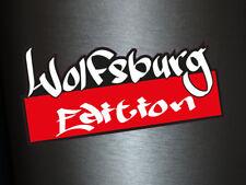 1 x Aufkleber Wolfsburg Edition Graffiti Art Special Sticker Tuning Turbo Auto