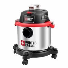 Porter Cable Pcx18406 5b 5 Gallon 4hp Wetdry Shop Vac Vacuum With Hose Amp Nozzles