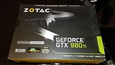 Box for Zotac Geforce GTX 980 Ti Graphic card is not included