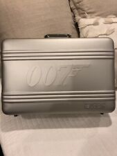 SWATCH  007 JAMES BOND  ALUMINIUM BRIEFCASE for 20 WATCHES COLLECTION  ! NEW !