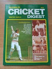 World CRICKET Digest Winter 1979
