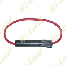 Hi Level Motorcycle Fuse Holder Holds 25mm or 30mm 760100 BC23985 - T