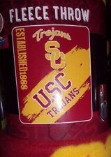 NCAA University Southern California TROJANS POLAR FLEECE BLANKET