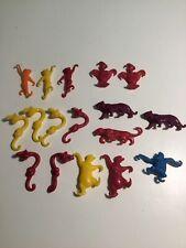 Jungle Book Plastic Cereal Toys Vintage Mowgli 17 Pieces