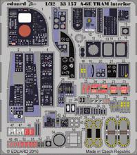 Eduard Zoom 33157 1/32 Grumman a-6e Intruder TRAM Trombettista