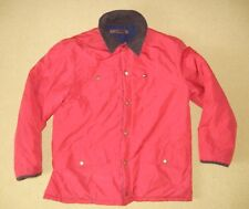 TOMMY HILFIGER Red/Blue Reversible INSULATED JACKET Winter Coat Sz Men's LARGE