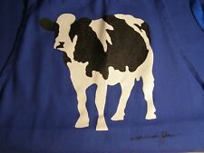 Vintage Woody Jackson, Vermont Cow Artist, Apron,1983.