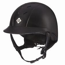 Charles Owen AYRBrush Helmet-Black-6 7/8-56cm