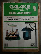 Vintage Galaxie Bug Machine GL3515 Brand New in Open Box Bug Zapper
