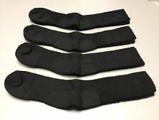 NWOT Men's USA Columbia Merino Wool Socks 4 Pair Size 10-13 Black #954A