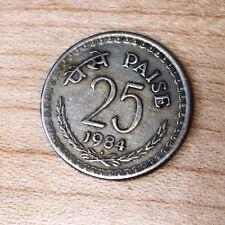 1984 India 25 Paise