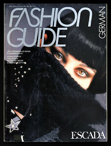 GERMAN FASHION GUIDE Magazine No.11 Fall Winter 1986-1987
