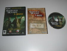 Sherlock Holmes THE AWAKENED Remastered Edition Pc DVD Rom FAST DISPATCH
