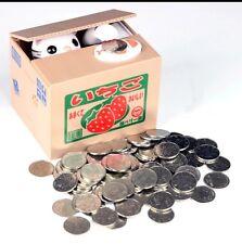 Kitten Cat Panda Automated Stealing Coins Money Saving Box Piggy Bank
