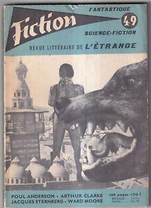 REVUE FICTION N°49. OPTA. 1957.