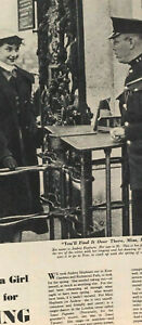 AUDREY HEPBURN'S VERY EARLY SHOOT KEW GARDENS 1950s PICTURE POST magazine UK