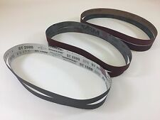"1"" x 30"" Knife Makers High Grit Sanding Belts, 6 pc Assortment for Knife Making"