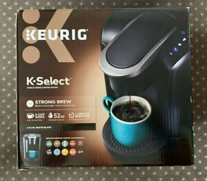 Keurig K-Select 5 Cups Capsule Machine - Black Free Shipping (New In The Box)