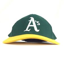 MLB Oakland A's Athletics Wells Fargo Bank Baseball Cap Hat Snapback Adult Coton