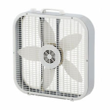 Lasko 20 in. 3-Speed Indoor Electric Portable Quiet Energy Efficient Box Fan NEW