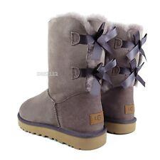 e0c97a5013c ugg bailey bow boots women size 8   eBay