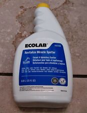 Case of 4   ECOLAB  6101125 Revitalize Miracle Spotter cleans GOOD carpet/fabric