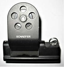 "SCHAEFER–Twin-Sheet Lead Block, Fits 1"" x 1/8"" Track"
