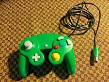 Nintendo Green and Blue Gamecube Controller