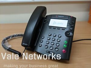 Polycom VVX 311 HD Business Media IP Desk Phone Skype Business Edition