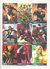 2012 Marvel Greatest Heroes Parallel Complete Set ( 81 Cards)   NICE!!!!
