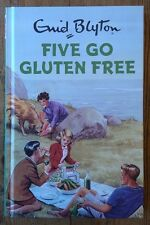 Five go gluten free Enid Blyton books for Grown ups Retro Adults Fun gift New