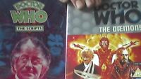 DOCTOR WHO THE DAEMONS DVD    Damons Demons Dr Who -  COMES WITH SCRIPT BOOK