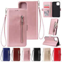 Fr iPhone 12 11 Pro Max 8 7 6 Plus Xs Xr Magnetic Leather Flip Case Wallet Cover