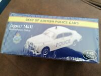 ATLAS EDITIONS - JAGUAR MK2 - BEDFORDSHIRE - 1/43.SCALE - POLICE COLLECTION