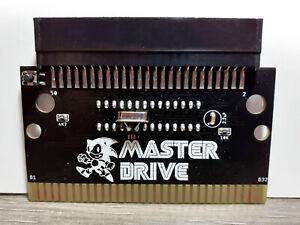 master system cart to sega megadrive converter adapter like power base genesis