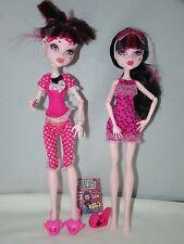 Monster High Doll Draculaura Dead Tired Lot of 2