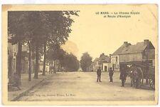 CPA 72 - LE MANS (Sarthe) - La Chasse Royale et Route d'Alençon