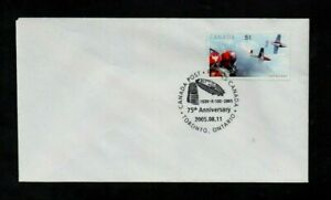 CANADA. 2005. COVER. 75TH ANNIV OF R-100 BRITISH AIRSHIP TO CANADA. SPECIAL D/S.