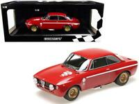 1971 Alfa Romeo GTA 1300 Junior Red Limited Edition to 600 pieces Worldwide 1/18