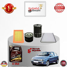 KIT TAGLIANDO FILTRI + OLIO FIAT BRAVO I 1.9 JTD105 77KW 105CV DAL 1999 -> 2000
