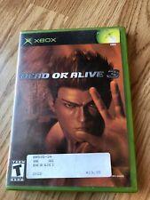 Dead or Alive 3 (Microsoft Xbox, 2001) Cib Game H3