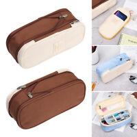 Macaron Color Large Capacity Pencil Case  Pencils Bag  Pen Pouch Cosmetic Bags