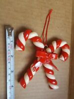 Silvestri Candy Cane Ornaments Christmas xmas tree decoration vintage pre-owned