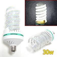 Bright E27 5-30W 2835SMD LED Energy Saving Lamp Spiral Bulb Cool White AC85-265V