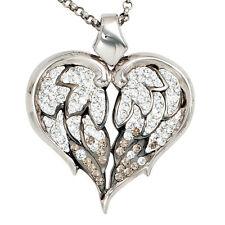 Swarovski Echte Edelstein-Halsketten & -Anhänger im Collier-Stil mit Herz